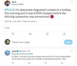 Scramble for 'amber list' breaks: EasyJet sees 400% rise in bookings