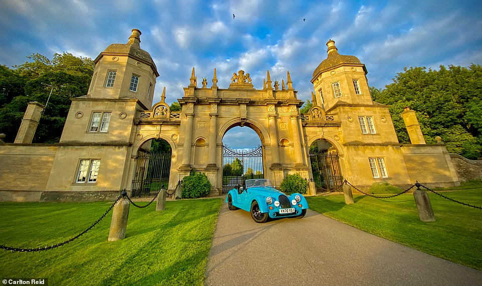 Nostalgia staycation trip: Driving the historic Great North Road in a £65k Morgan sports car