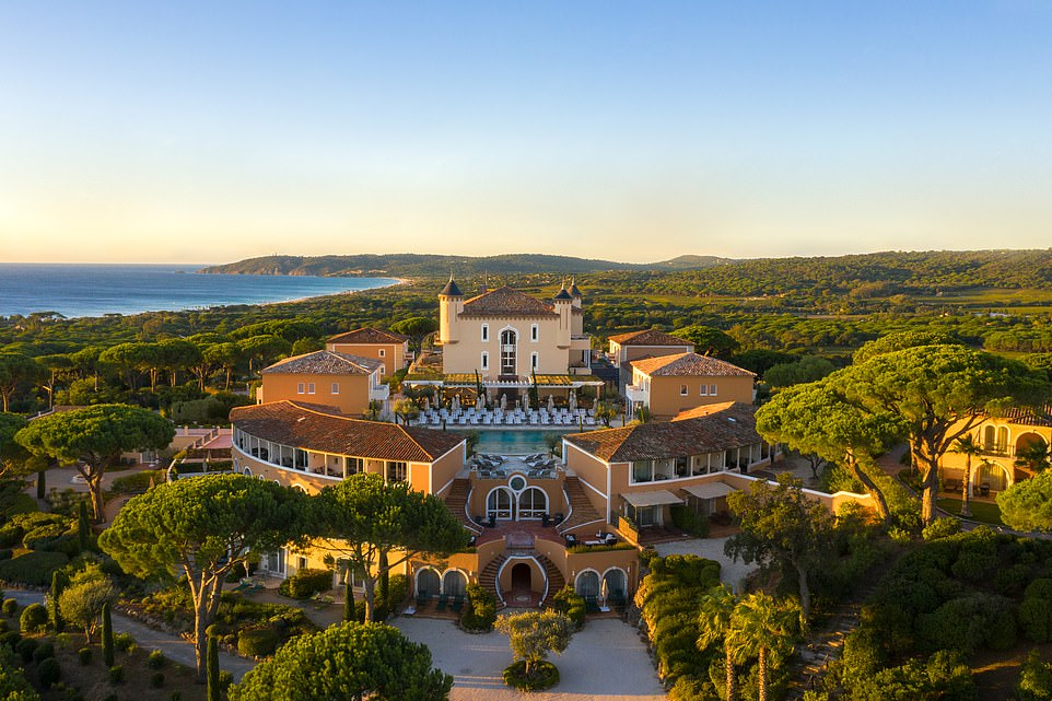 France holiday: Inside the stunning palace-rated Chateau de la Messardiere hotel in Saint-Tropez