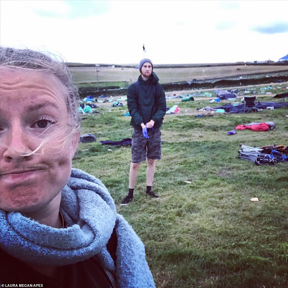 Fury at 'hypocritical' Boardmasters festival goers for leaving Cornwall site covered in litter