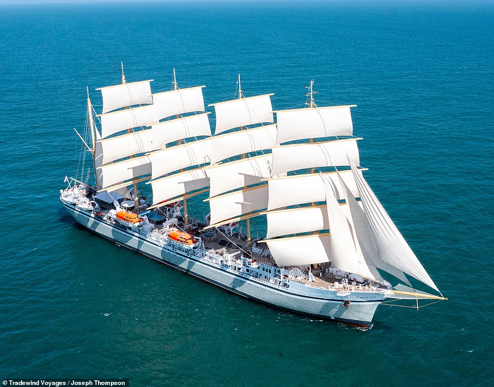 Golden Horizon review: Thrills and romance on the world's largest square-rig sailing ship