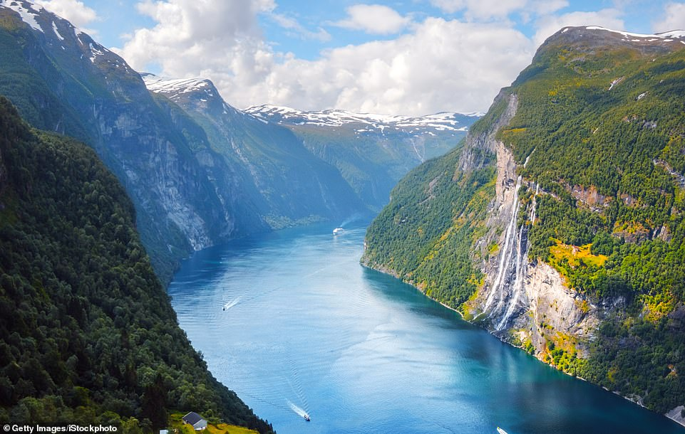 There's no better way to experience the majestic Norwegian fjords than on board a luxury cruise ship