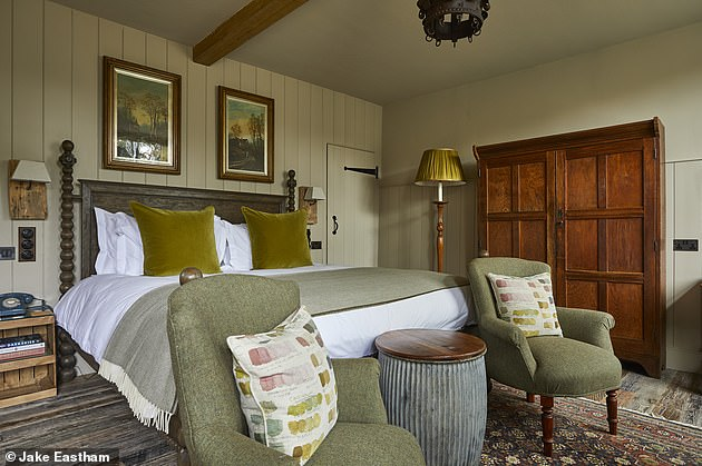 Staycation hotel review: Inside the new and 'perfect' Pig In The South Downs