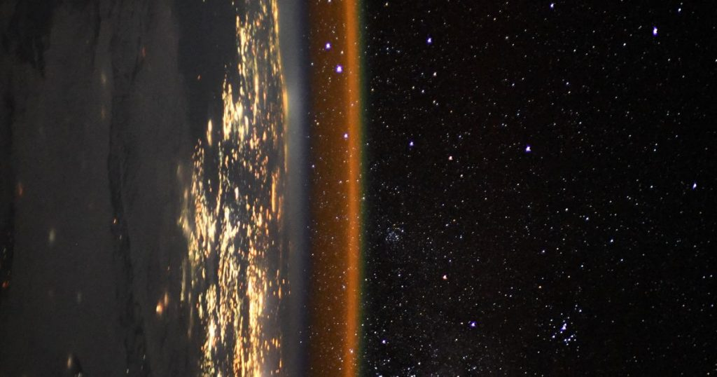 Stare in amazement at this image of Earth snapped by space station astronaut