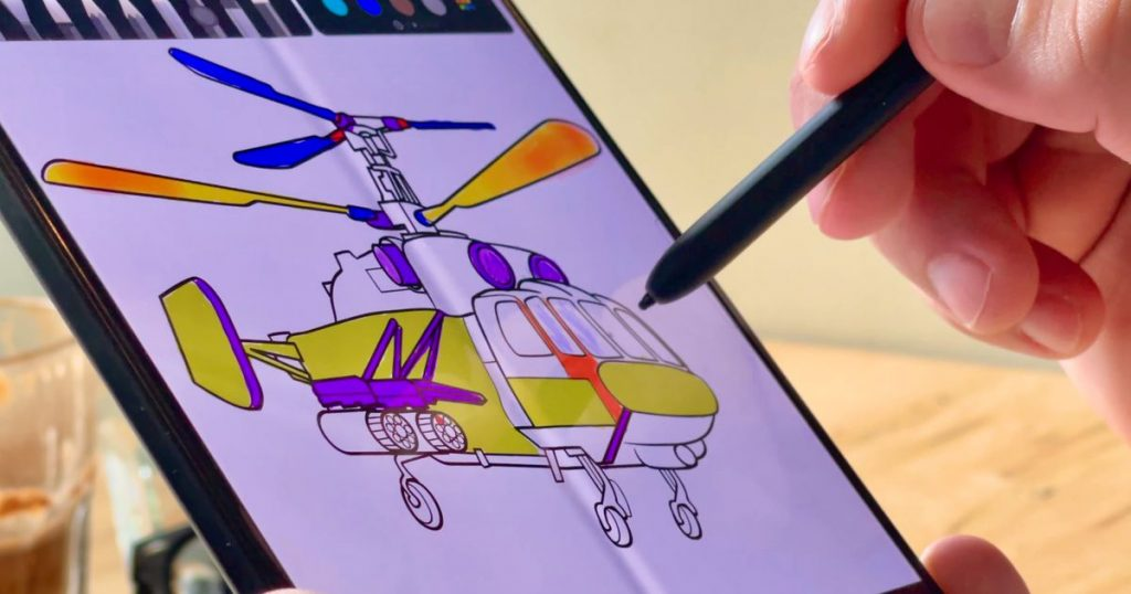 Galaxy Z Fold 3: What happens when we draw 16,000 circles on it with an S Pen?